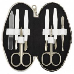 DUP manikúra 230401-462 černá a bílá kůže