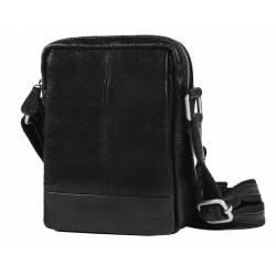 Kožená taška Segali 1110 černá