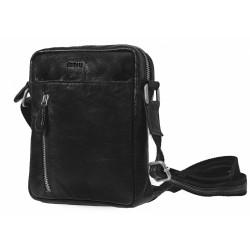 Kožená taška Segali 7016 černá