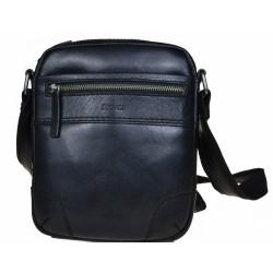 Kožená taška Segali 25577 černá