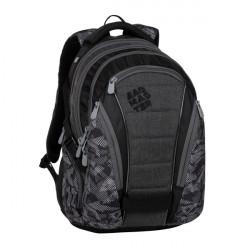 Bagmaster BAG 20 A gray/black studentský batoh