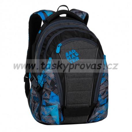 Bagmaster BAG 20 D blue/grey/black studentský batoh