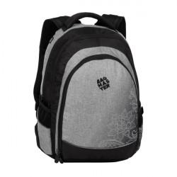 Studentský batoh Bagmaster DIGITAL 20 A GRAY/BLACK