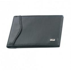 Pouzdro na kreditní karty nebo vizitky Herlitz 05505110 (černá koženka)