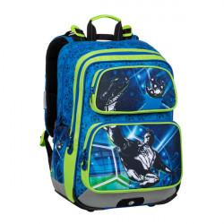 Školní batoh Bagmaster GEN 20 B BLUE/GREEN/BLACK