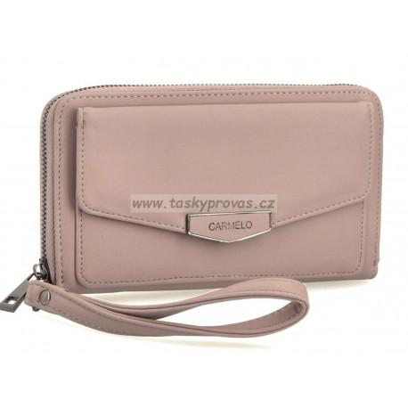 Carmelo dámská peněženka 2115 Růžová