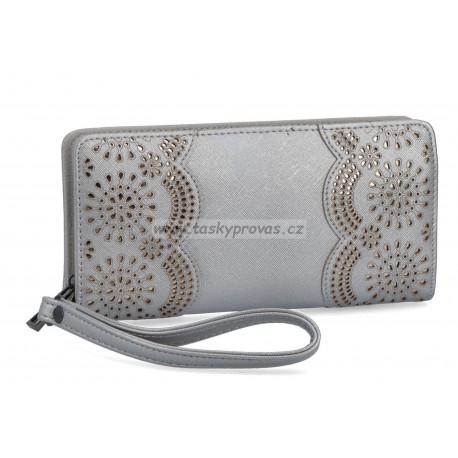 Carmelo dámská peněženka 2113 Stříbrná