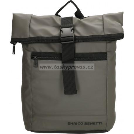 Batoh messenger s kapsou na notebook Enrico Benetti 47190 grey