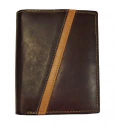 Pánská kožená peněženka Talacko 80300-2 hnědá