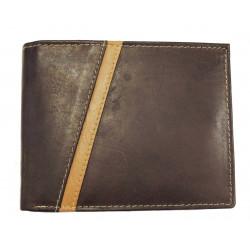 Pánská kožená peněženka Talacko 80300-1 hnědá