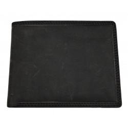 Pánská kožená peněženka Talacko 305 B-HT černá