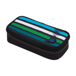 Školní penál/pouzdro Bagmaster CASE BAG 20 C BLUE/GREEN/BLACK/WHITE