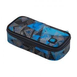 Školní penál/pouzdro Bagmaster CASE BAG 20 D BLUE/GRAY/BLACK