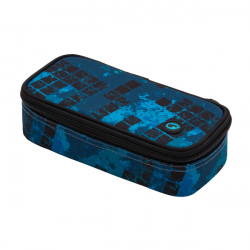 Školní penál/pouzdro Bagmaster CASE BOSTON 20 B BLUE/BLACK/GREEN