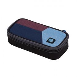 Školní penál/pouzdro Bagmaster CASE DIGITAL 20 C BLUE/RED/LIGHT BLUE