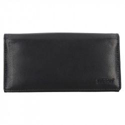 Lagen černá kožená kasírka Lagen LG-01 černá