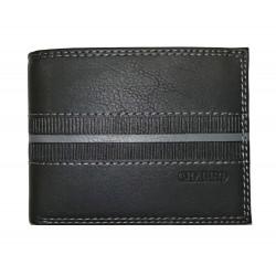 Kožená pánská peněženka Charro 844992 black