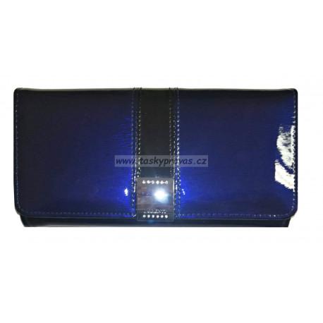 Dámská kožená peněženka Lorenti 1077-SH blue