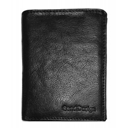 Pánská kožená peněženka SendiDesign MZ/N04 black