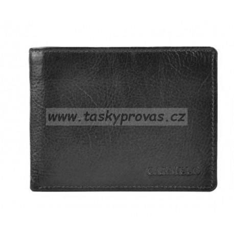 Pánská kožená peněženka Carmelo 7095 černá