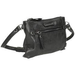 Crossbody malá kabelka Enrico Benetti 66383 černá