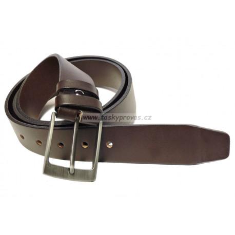 Opasek kožený Penny Belts 35-40 hnědý