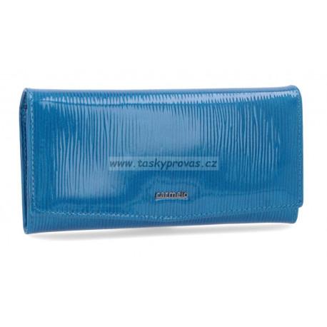 Carmelo dámská kožená peněženka 2109 F blue