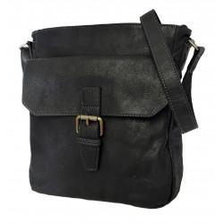 Katana kožená taška Crossbody 21902-01 černá