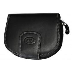 Dámská kožená peněženka DD D191-01 černá