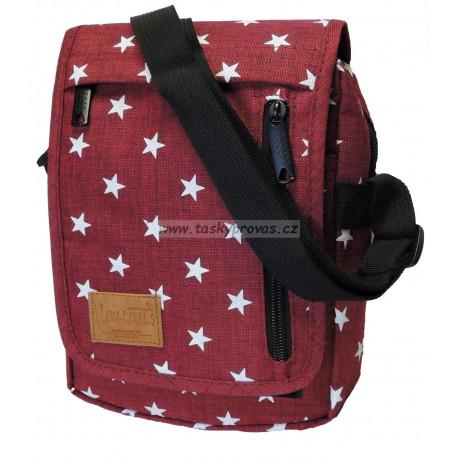 Crossbody taška New Rebels Star 43.112124 červená