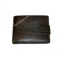 Pánská kožená peněženka Lagen V-98/T tm.hnědá