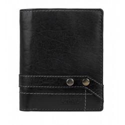 Pánská kožená peněženka Lagen 112/T černá