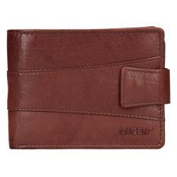 Pánská kožená peněženka Lagen V-98 hnědá
