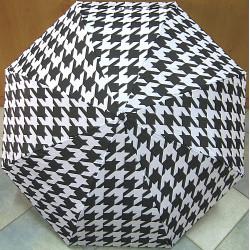 Deštník skládací Mini Max (EB) LF-199A3 černo-bílý