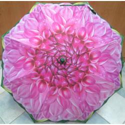 Deštník holový automat Perletti 25463 B květ