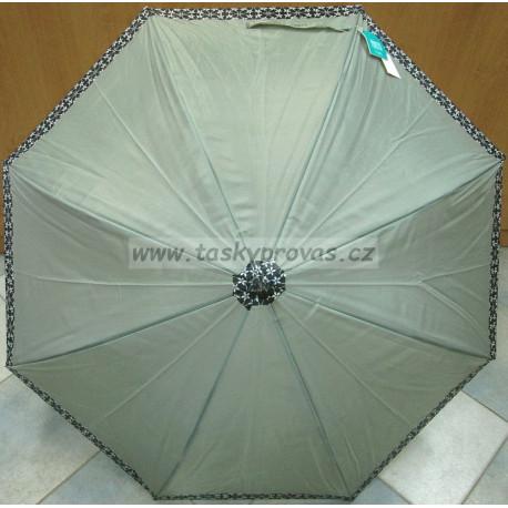 Deštník holový automat Perletti 25887 šedý
