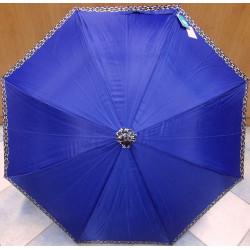 Deštník holový automat Perletti 25887 modrý