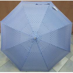 Deštník holový automat Blue Drop A551 modrý
