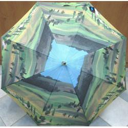 Deštník holový automat Blue Drop A060