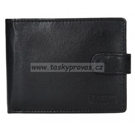 Pánská kožená peněženka Lagen V-42 černá