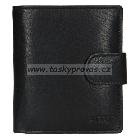 Lagen pánská kožená peněženka V-84 černá