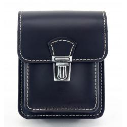 Kožená kapsa na pásek Greisi M5-CSS černá