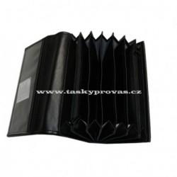 Talacko kasírka 0602 2xzip černá