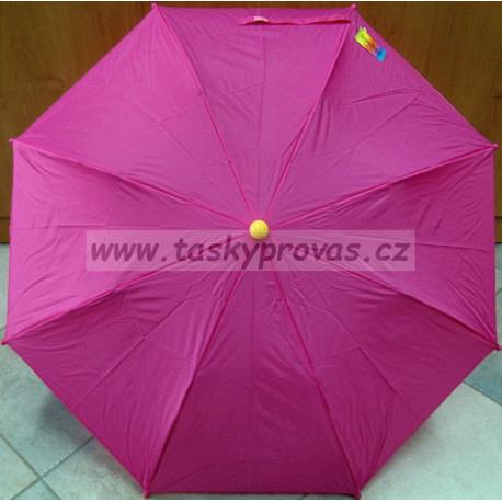 Deštník dětský skládací Gremo 1021 Žabka Růž./Žl.