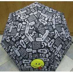 Deštník mini skládací Smiley 25176