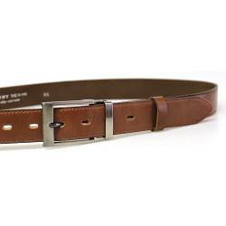 Luxusní kožený společenský opasek Belts 35-020-3-48 hnědý