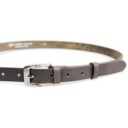 Opasek dámský kožený Penny Belts 20-182-50 šedý