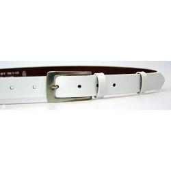 Opasek dámský kožený Penny Belts 25-176-00 bílý
