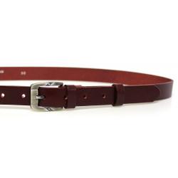 Opasek dámský kožený Penny Belts 25-172-95 bordó