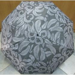 Deštník skládací Cabrio 306 šedý/pírka